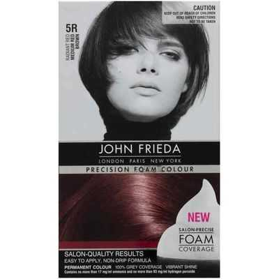 John Frieda Precision Foam 5r Medium Red Brown