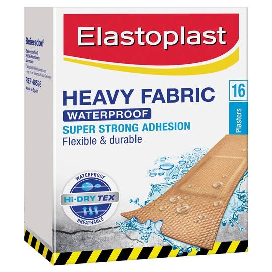 Elastoplast Fabric Strips Waterproof