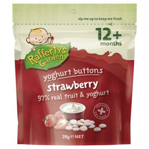 Rafferty's Garden Strawberry Yoghurt Buttons