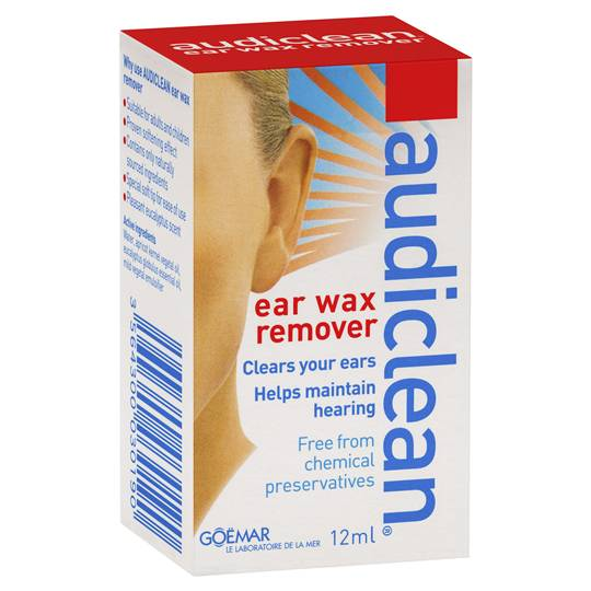 Audiclean Ear Wash Ear Wax Remover