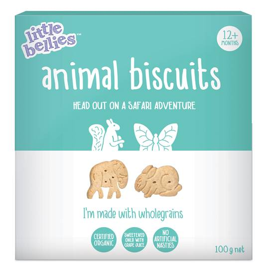 Little Bellies Animal Biscuits