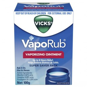 Vicks Chest Rub Vaporub
