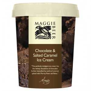 Maggie Beer Ice Cream Chocolate Salted Caramel