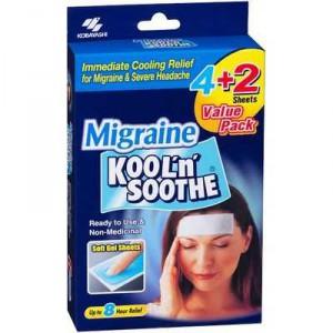 Kool N Soothe Gel Shhet Migraine