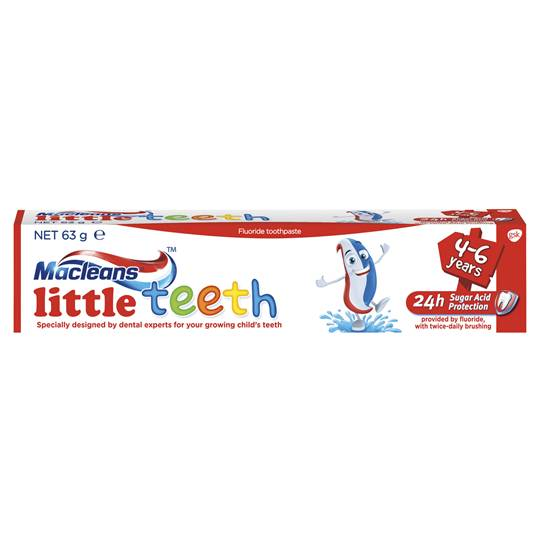 Macleans Toothpaste Little Teeth