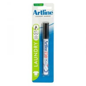 Artline Laundry Marker Black