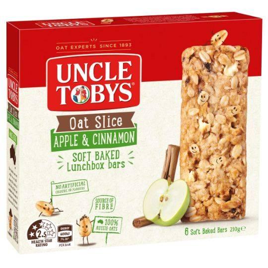 Uncle Tobys Oat Slice Apple & Cinnamon