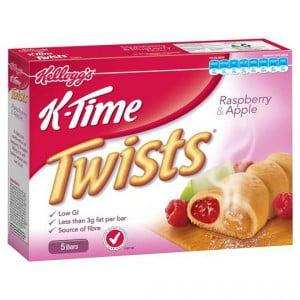 Kellogg's K-time Twist Raspberries & Apple