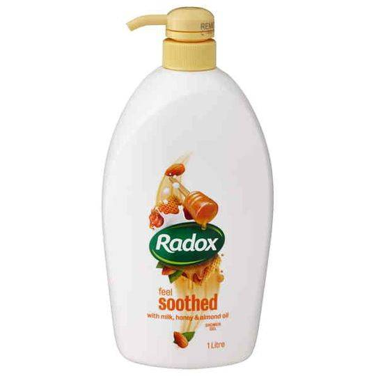 Radox Shower Gel Body Wash Honey & Almond