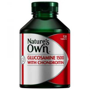 Natures Own Glucosamine 1500mg With Chondroitin
