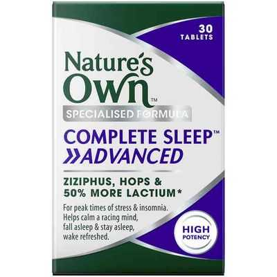 Nature's Own Complete Sleep Advanced Tablets
