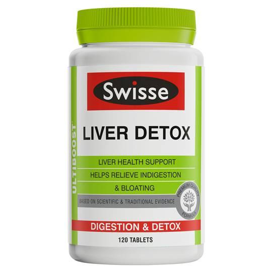 Swisse Ultiboost Liver Detox Tabs