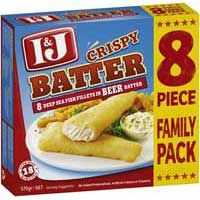I&j Beer Battered Fish Fillets