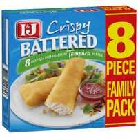 I&j Battered Fish Fillets Tempura