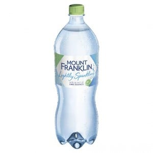 Mount Franklin Lightly Sparkling Lime Water