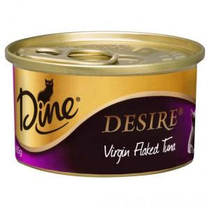 Dine Desire Adult Cat Food Virgin Flaked Tuna