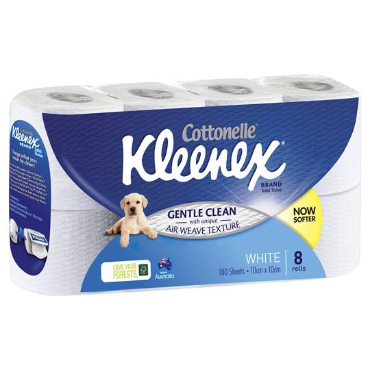 Kleenex Cottonelle Toilet Tissue White
