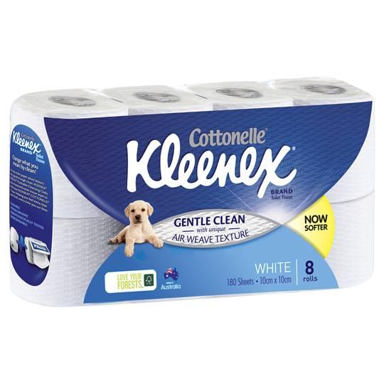 Kleenex Cottonelle Toilet Tissue White