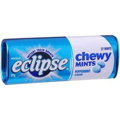 mom103914 reviewed Wrigley's Eclipse Chewy Mints Peppermint