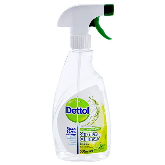 Dettol Surface Multipurpose Lime & Mint Cleaner