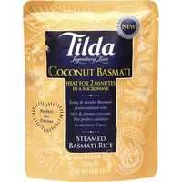 Tilda Microwave Coconut Basmati Rice