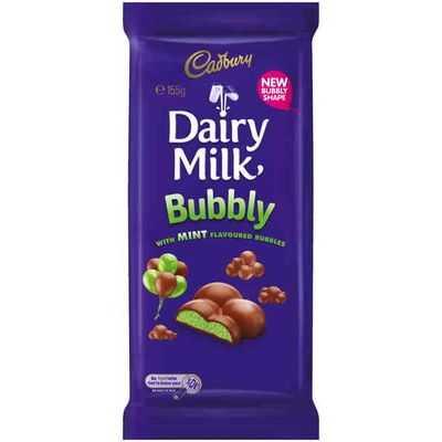 Cadbury Dairy Milk Bubbly Mint