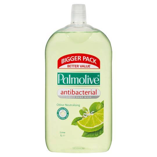 Palmolive Naturals Handwash Refill Lime Antibacterial