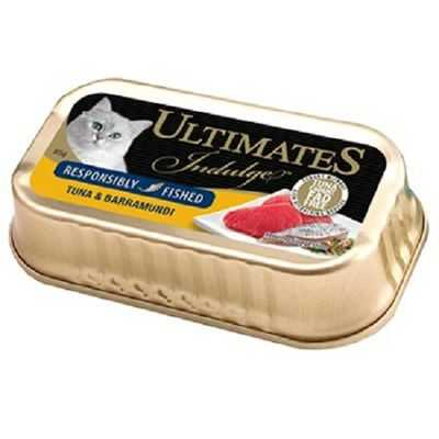 Ultimates Indulge Adult Cat Food Tuna & Barramundi