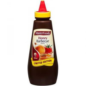 Masterfoods Barbecue Sauce Honey