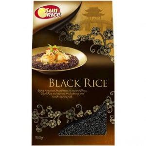 Sunrice Gourmet Rice Forbidden Black