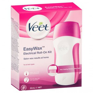 Veet Easy Hair Removal Wax Electrical Roll On Kit