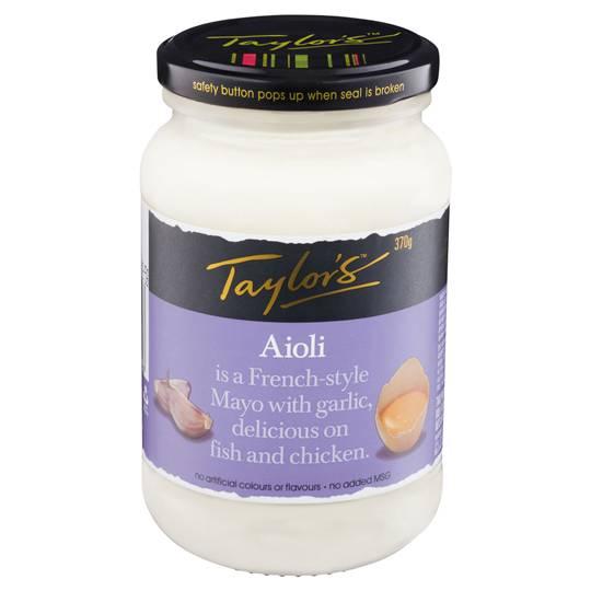 Taylors Aioli Mayonnaise