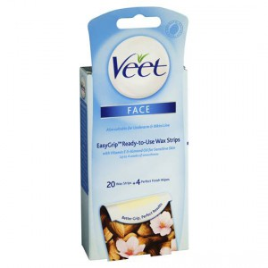 Veet Hair Removal Wax Mini Facial Strips