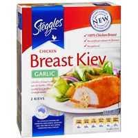 Steggles Crumbed Chicken Kiev