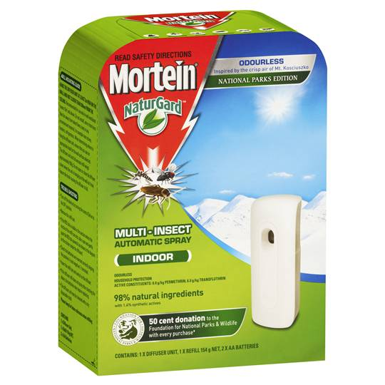 youngoldlady reviewed Mortein Auto Insect Control System Odourless