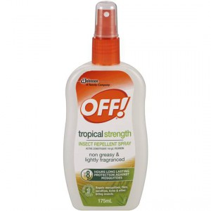 Off Tropical Insect Repellent Pump