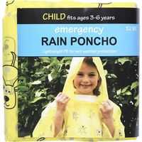 Kids Rain Weather Protection Poncho