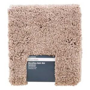 Microfibre Bath Mat Cappucino 48x78cm