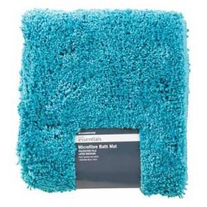 Microfibre Bath Mat Lagoon 48x78cm
