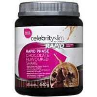Celebrity Slim Rapid Phase Shake Mix Chocolate