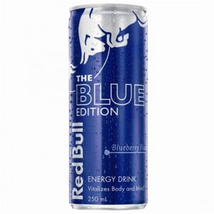 Red Bull Energy Drink Blue Edition Blueberry