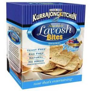 Kurrajong Kitchen Lavosh Mini Toast Bites Original
