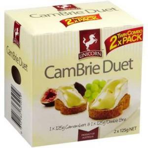 Unicorn Brie & Camembert Cheese