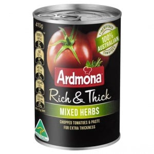 Ardmona Rich & Thick Chopped Herb Tomatoes
