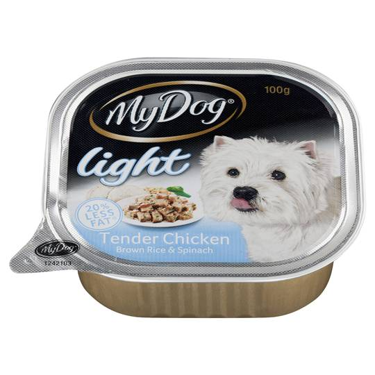 My Dog Adult Dog Food Light Chicken Rice & Spinach