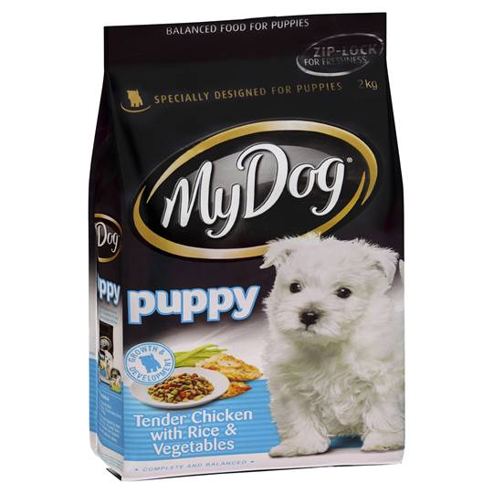 My Dog Puppy Food Chicken Rice & Vegetable