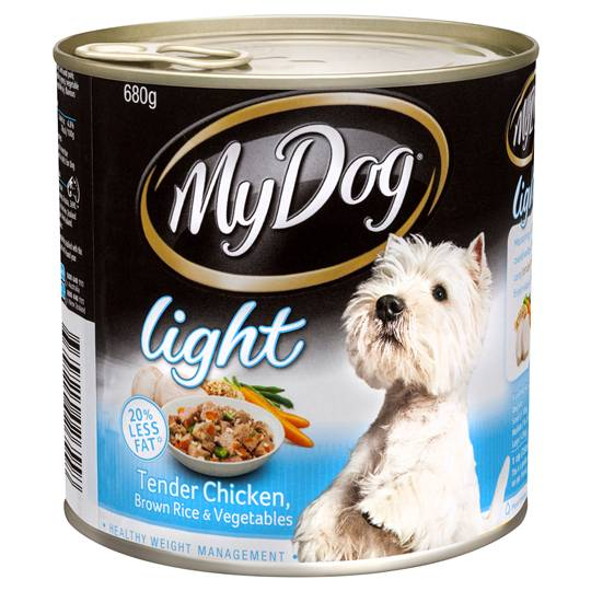 My Dog Adult Dog Food Light Chicken Rice & Vegetable