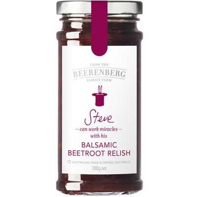 Beerenberg Relish Balsamic Beetroot