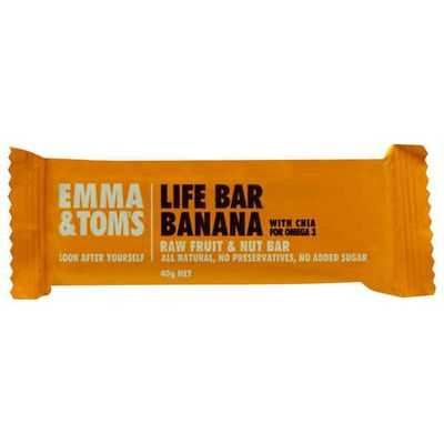 Emma & Tom Life Bars Banana