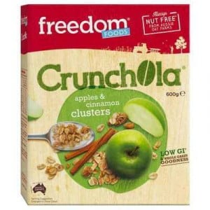 Freedom Foods Cereal Apple & Cinnamon